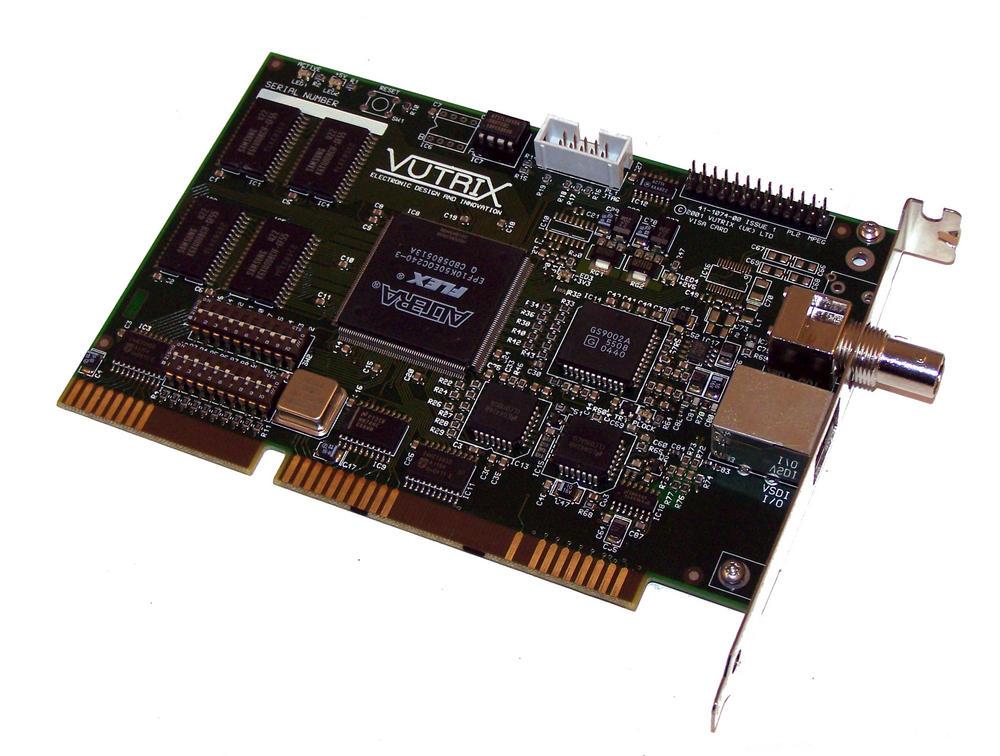Vutrix 41-1074-00 Issue 1 16-Bit ISA VISA VSDI Card
