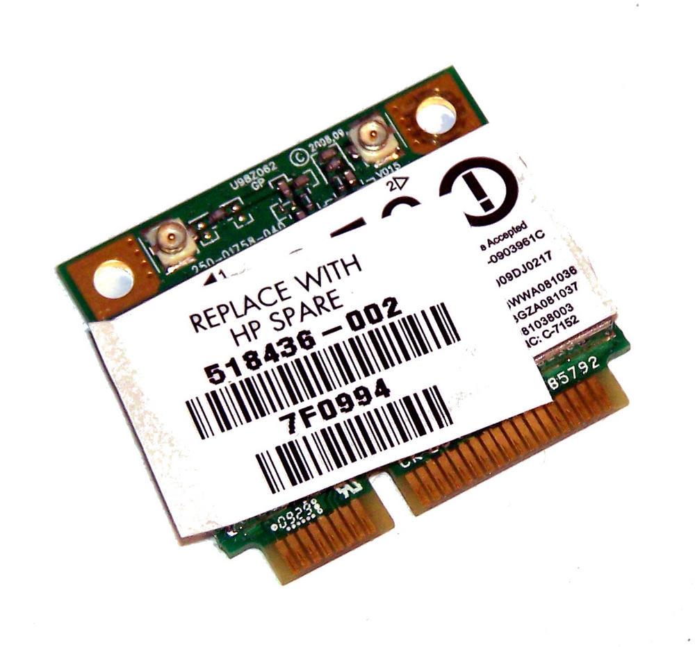 HP 495846-002 WLAN Mini PCIexpress Card ATH-AR5B95 802.11b/g/n | SPS 518436-002