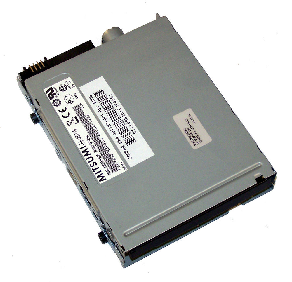 HP 391187-001 xw4300 1.44MB Floppy Drive Mitsumi D353M3D-5088 SPS 394415-001
