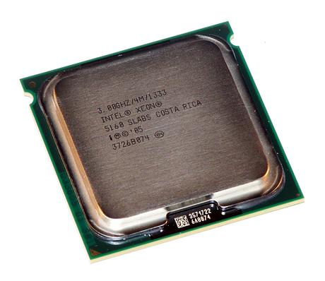 Intel HH80556KJ0804M Xeon Dual Core 5160 3.0GHz Socket J LGA771 Processor SLABS