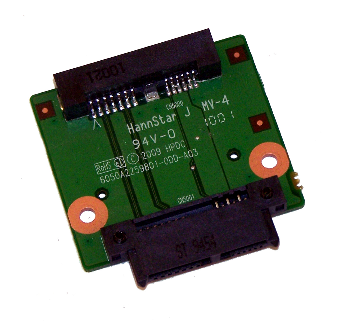 Sentinel HP 6050A2259801 Compaq 610 Optical Drive Interposer Board | SPS  538460-001