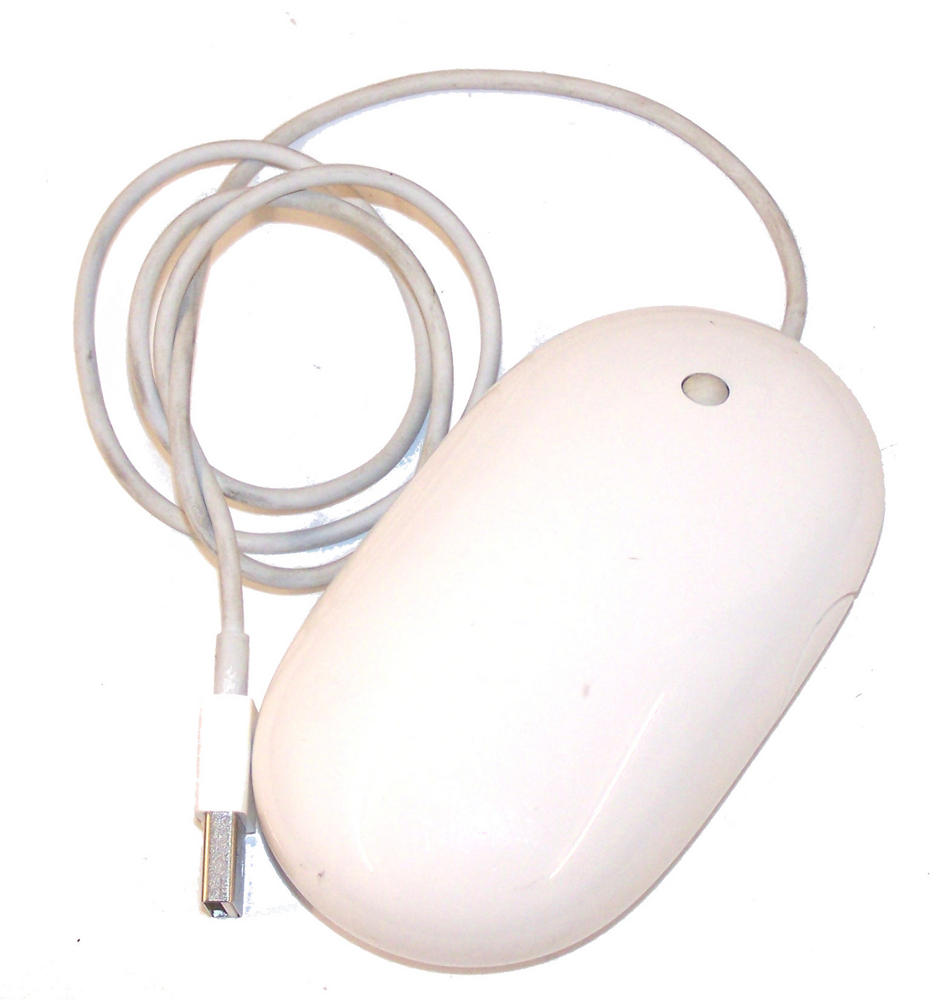 Apple A1152 White USB Mighty Mouse Thumbnail 1