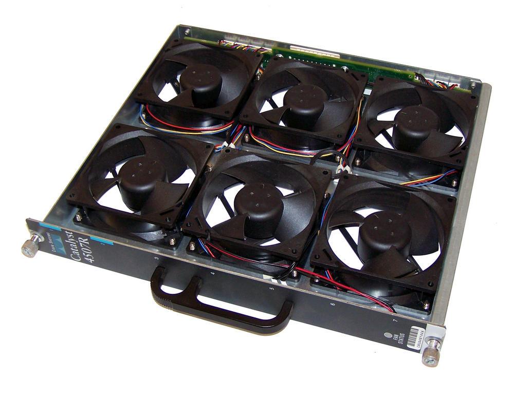 Cisco 800-16725-06 Catalyst 4507R Fan Tray | WS-X4597 Thumbnail 1