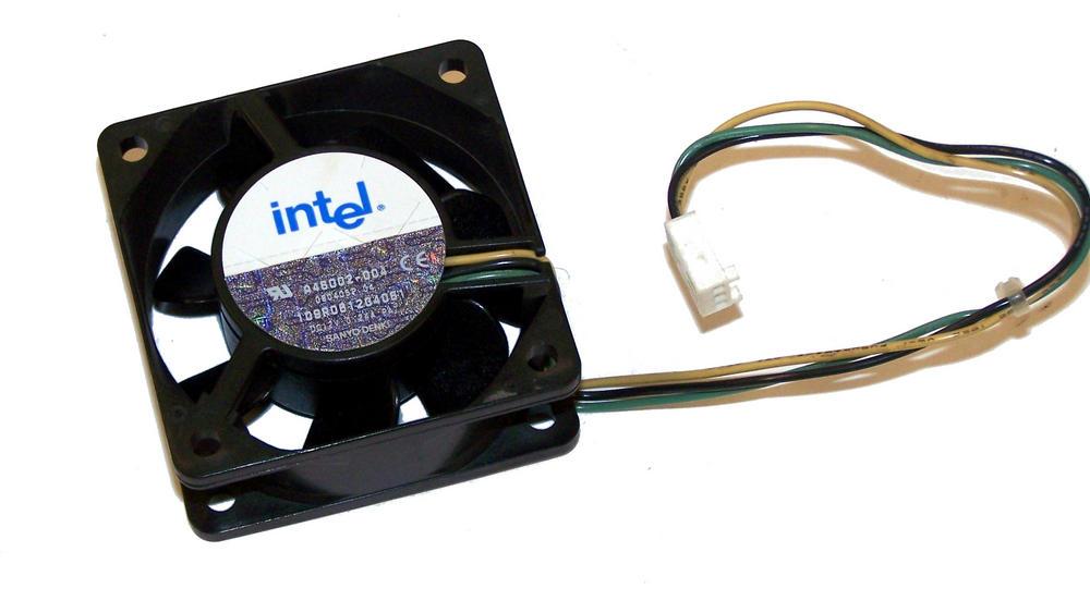 Intel A46002-004 12VDC 0.24A 60mm x 25mm Fan