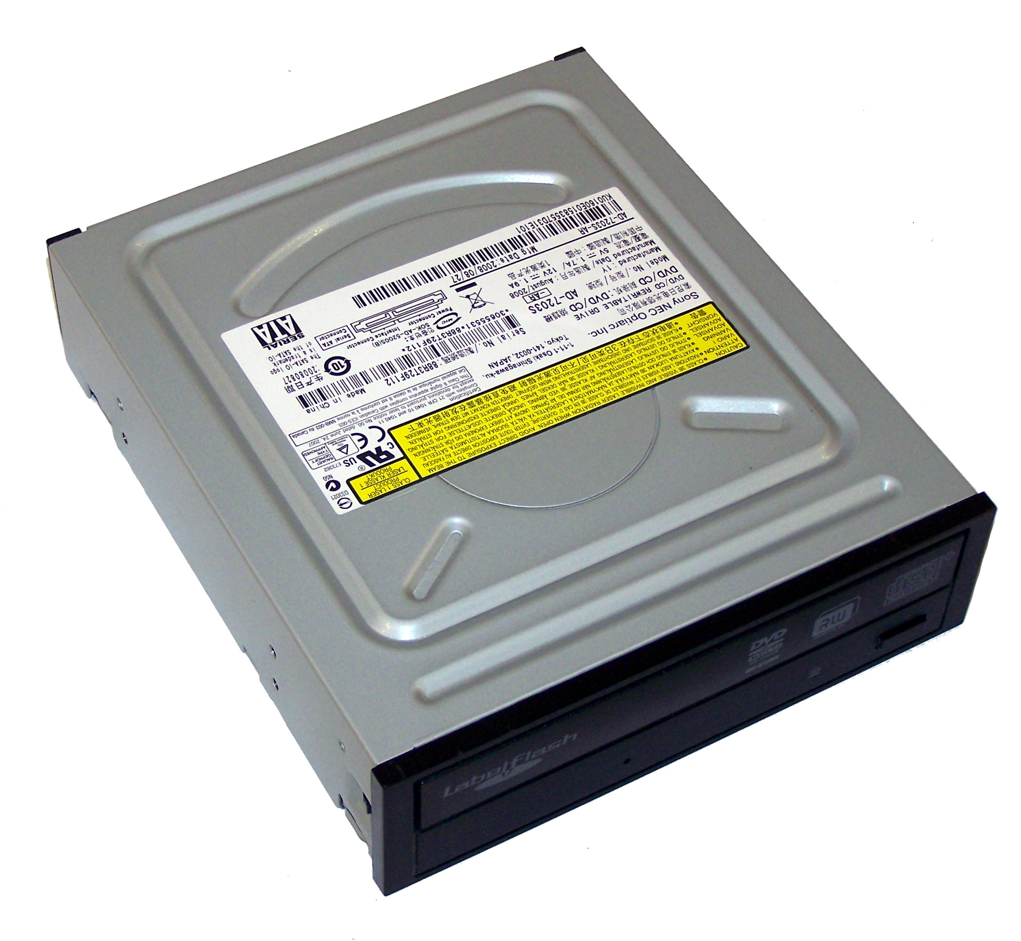 OPTIARC DVD RW AD-7200S ATA DEVICE DRIVER (2019)