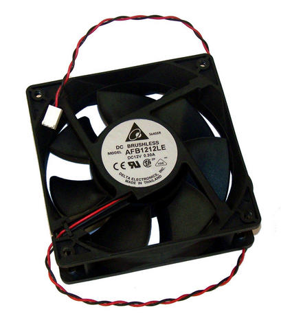 Avid AV7750-03023-01 12VDC 0.3A 120mm x 38mm Fan Assembly | Delta AFB1212LE 2-Wi Thumbnail 1