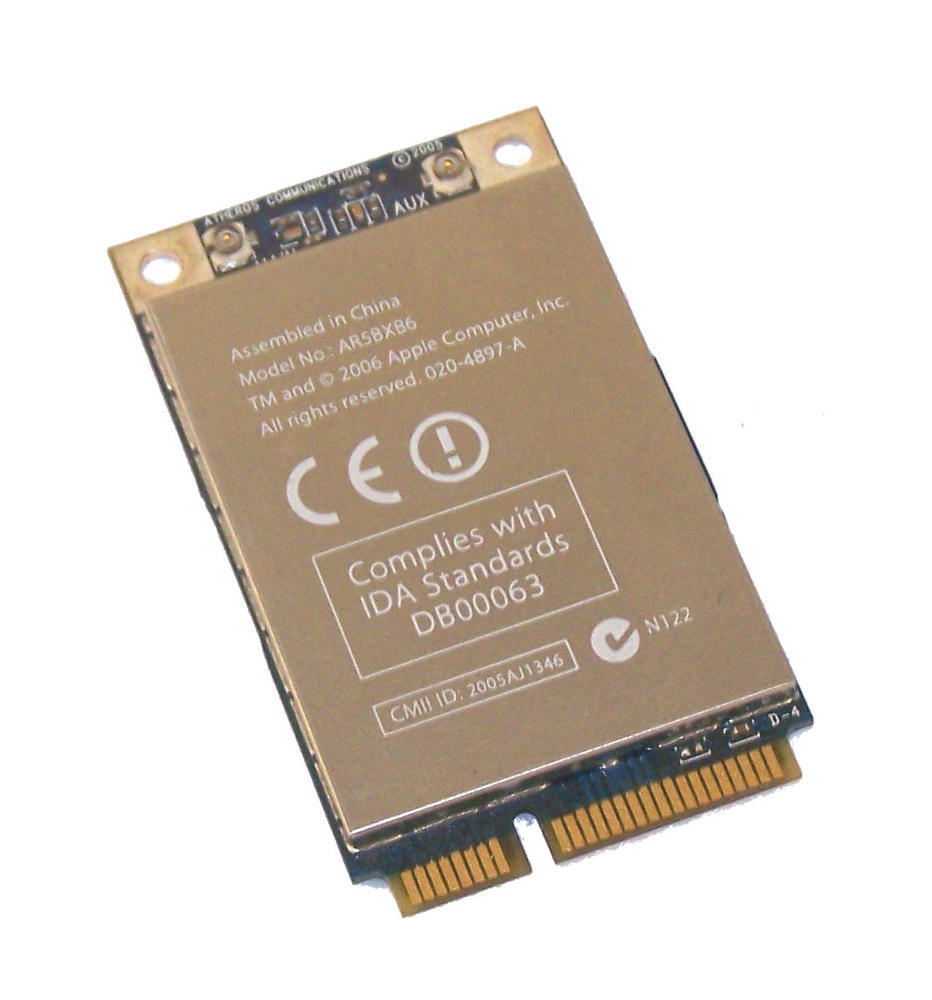 Apple 603-8215-A MAcBook Pro WiFi Airport Extreme Card | AR5BXB6 020-4897-A Thumbnail 1