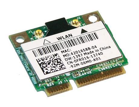 Dell FR016 WLAN Mini PCIexpress Card Broadcom DW 1397 WiFi 54Mbps 802.11b/g