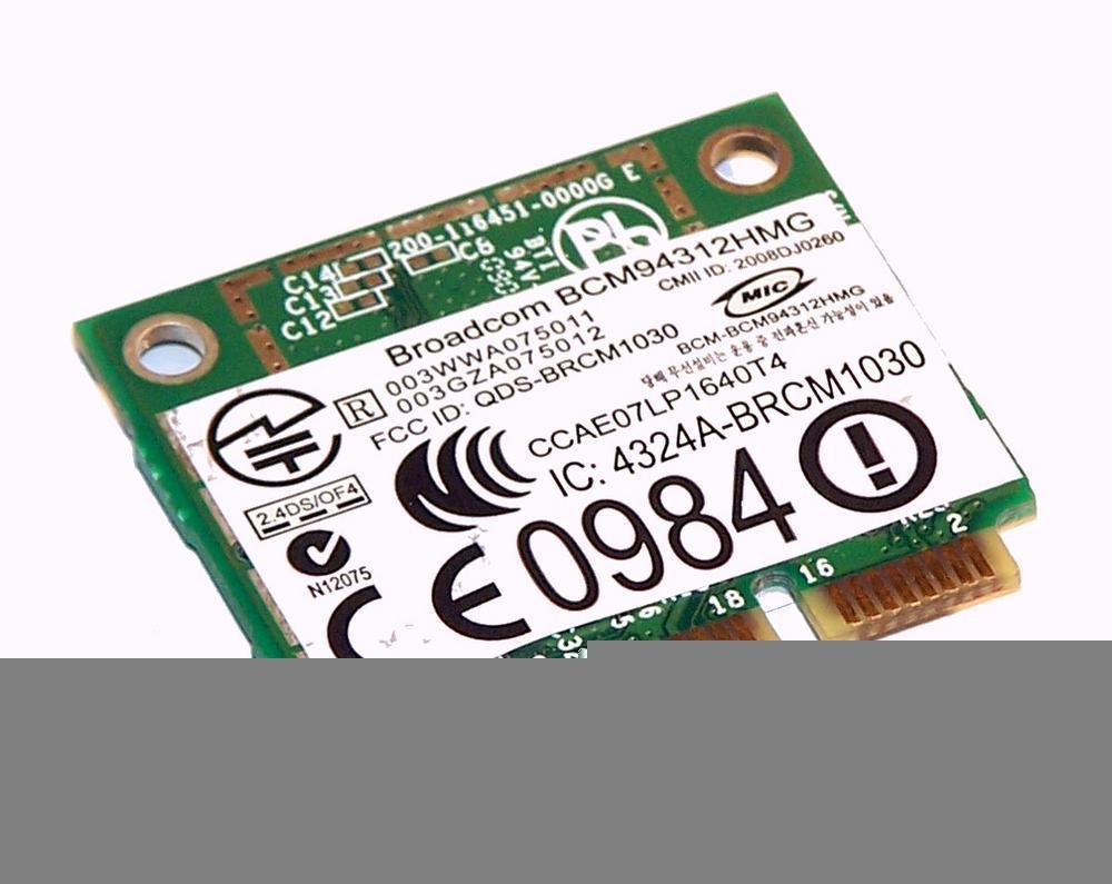 Dell FR016 WLAN Mini PCIexpress Card Broadcom DW 1397 WiFi 54Mbps 802.11b/g Thumbnail 2