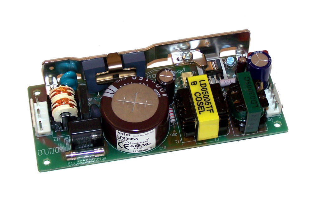 Cosel LDA30F-5 5VDC 6A 1U Open Frame Power Supply