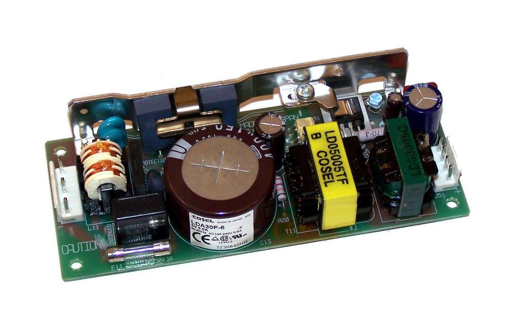 Cosel LDA30F-5 5VDC 6A 1U Open Frame Power Supply Thumbnail 1
