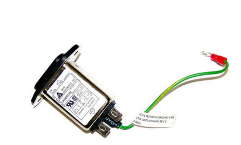 Avid 0070-03144-001 REV C IEC320 IEC C14 115/250VAC 50/60Hz 8A EMI Filter Thumbnail 1