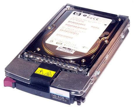 "HP 404708-001 146GB 10K 3.5"" SCSI Ultra 320 Hard Disk Drive in ProLiant Caddy"