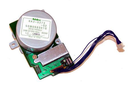 HP RK2-0273 LaserJet 4250 4350 24VDC Main Drive Motor  | Nidec 50M0603010