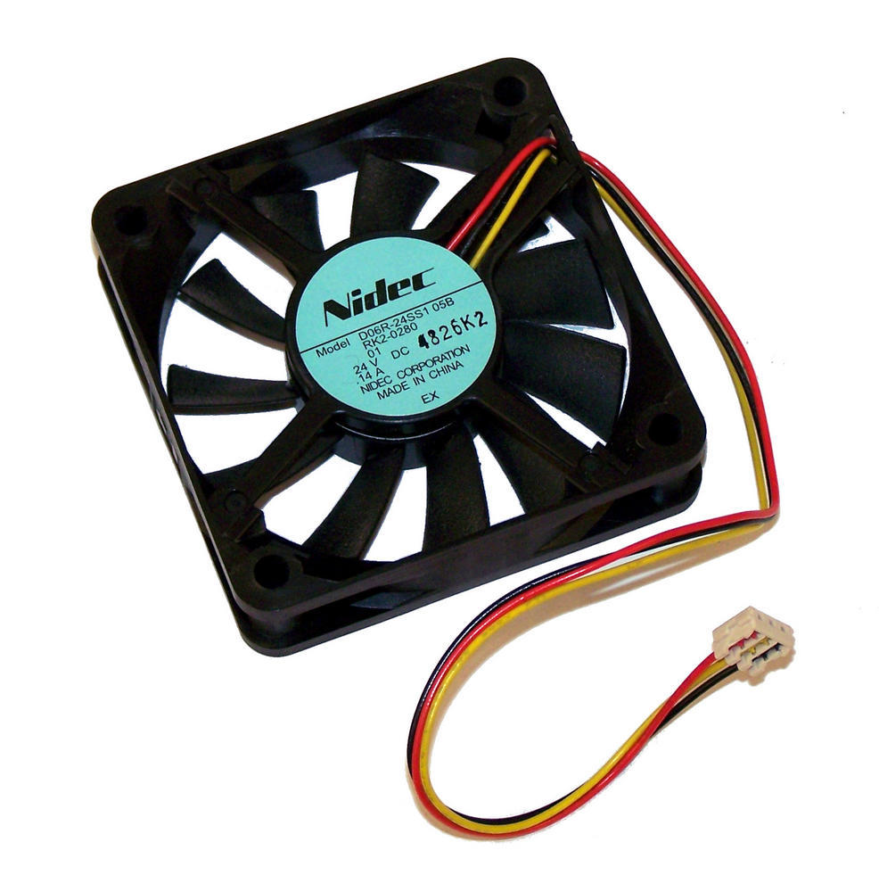 HP RK2-0280 LaserJet 4250 4350 24VDC Reversing Fan  | Nidec D06R-24SS105B