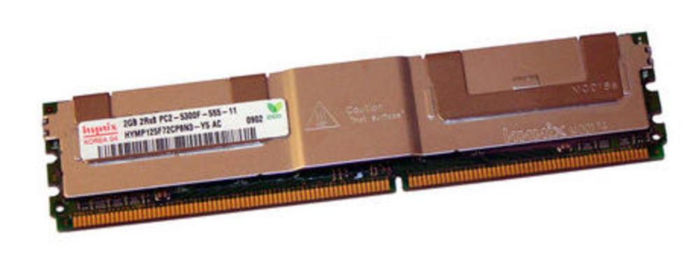 Hynix HYMP125F72CP8N3-Y5 AC (2GB PC2-5300F FB-DIMM Server 240-Pin DIMM) Memory