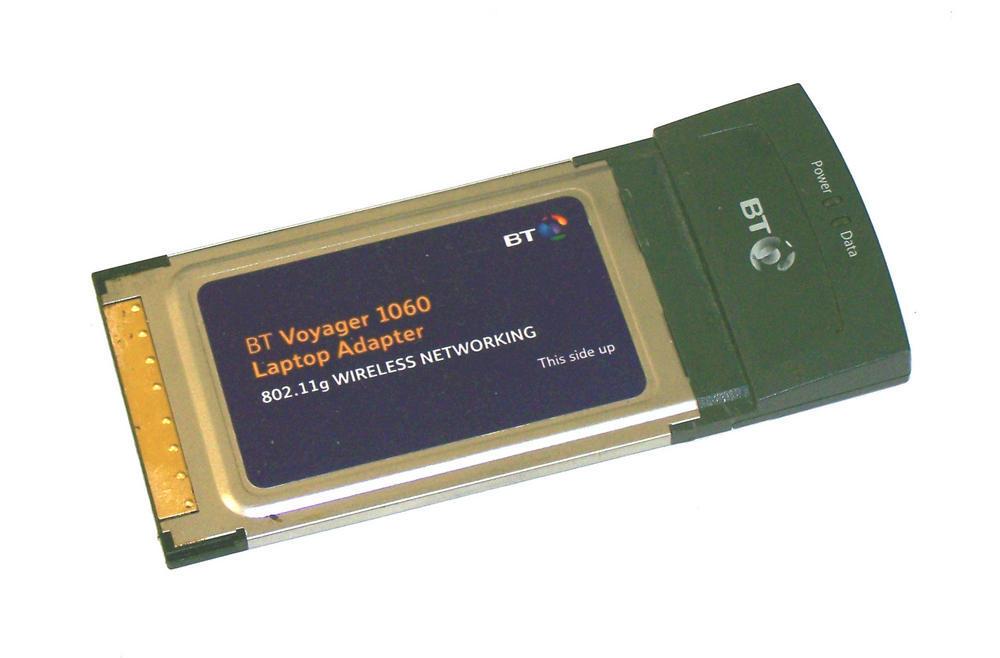 BT 022762 Voyager 1060 WLAN PCMCIA Card WiFi 802.11b/g
