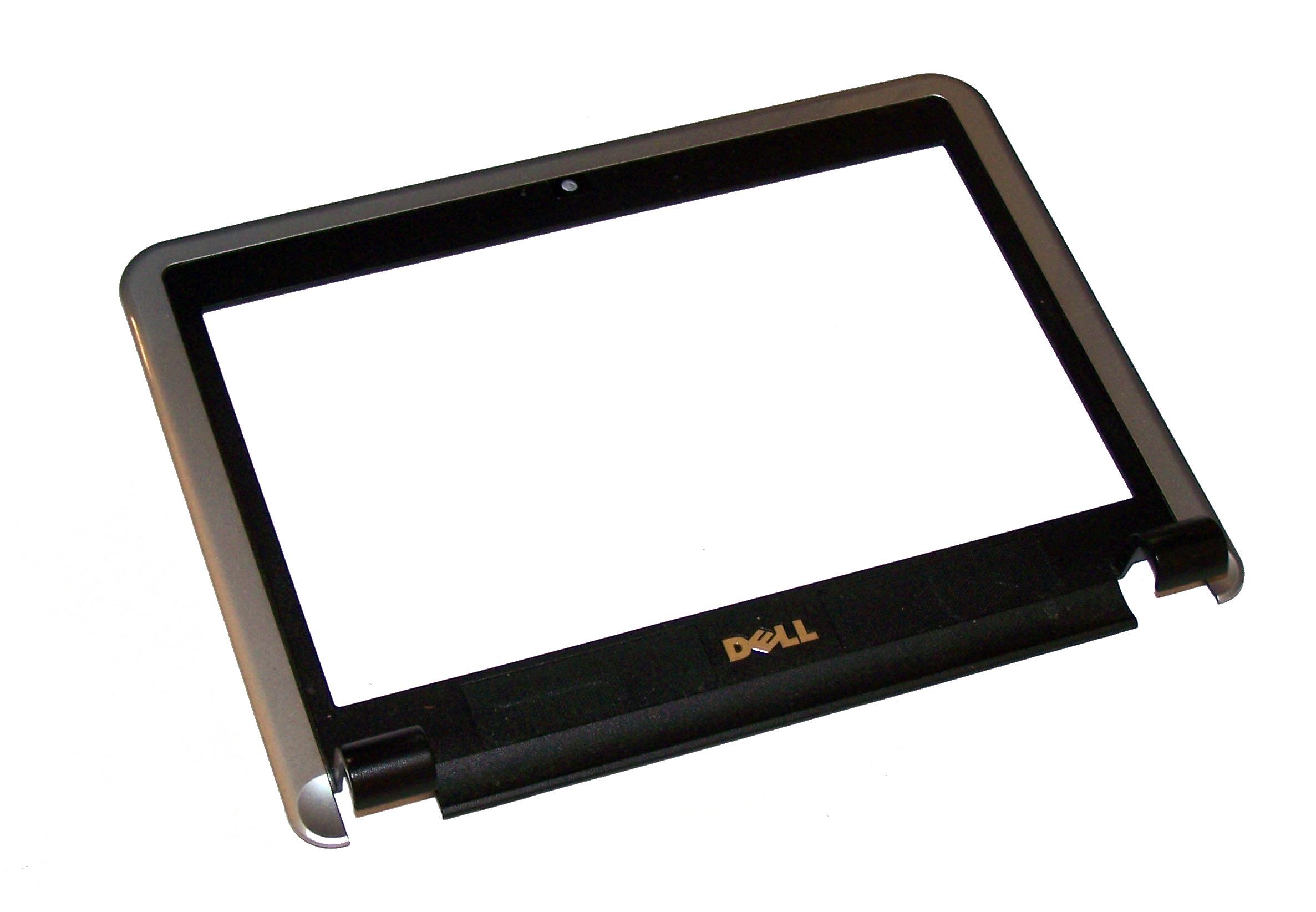 Dell J836H Inspiron Mini 910 Silver/Black LCD Trim Bezel | 0J836H AP054000200