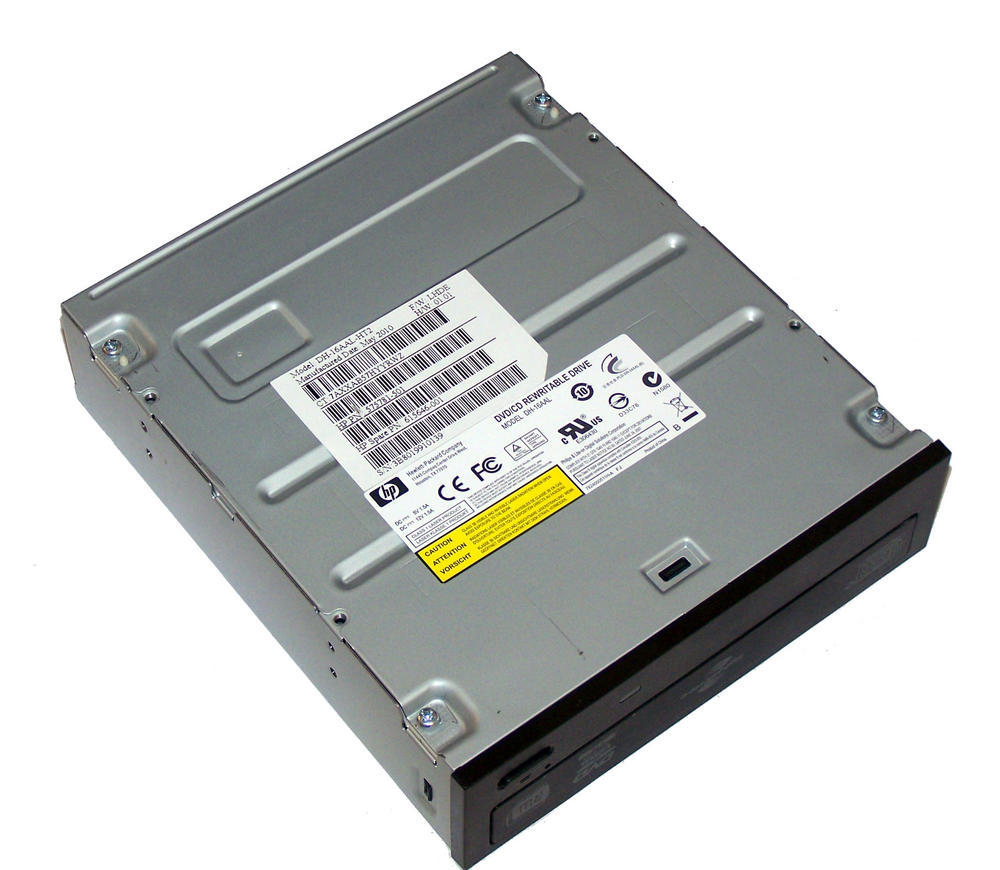 HP 575781-501 Black Bezel SATA H/H DVD DL Recorder | DH-16AAL SPS 615646-001 Thumbnail 2