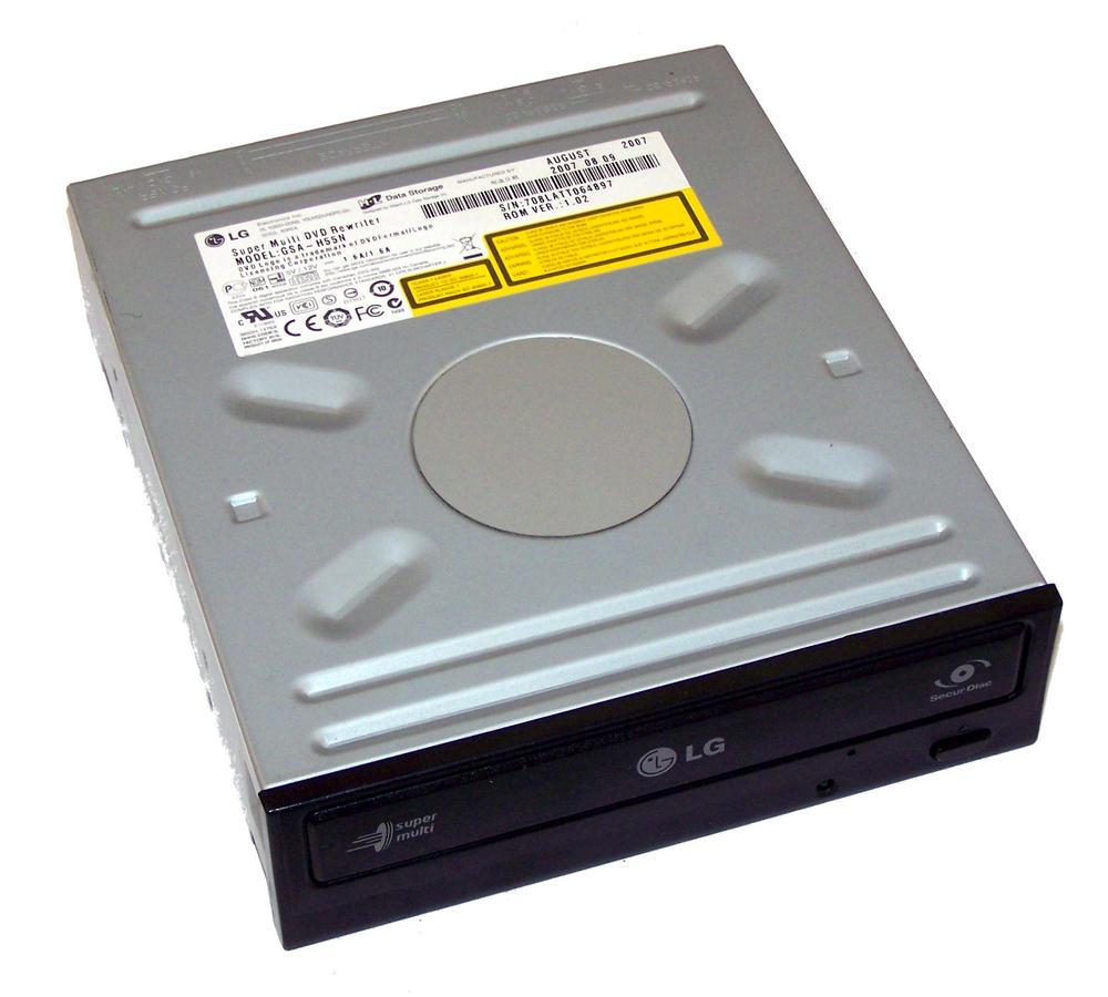 HL Data LG GSA-H55N Black Bezel ATA H/H DVD-RW Super Multi Drive Thumbnail 1