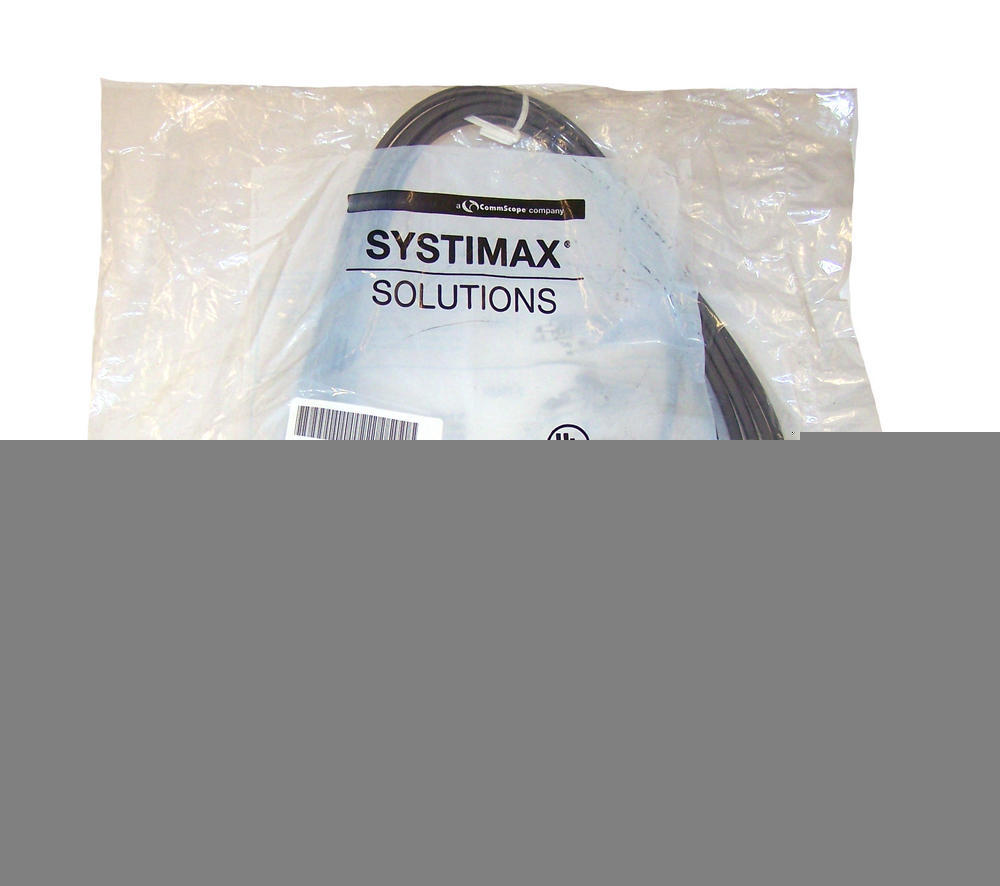 Systimax CPC5552-03F015 15' Grey VisiPatch 2-Pair GIGASpeed Patch Cable