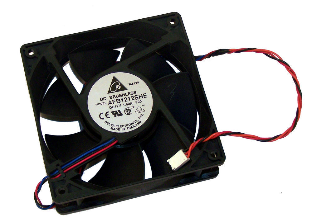 Avid AV7750-03022-01 12VDC 1.6A 120mm x 38mm Fan Assembly | Delta AFB1212SHE