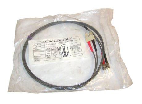 New Generic Grey 2m SC-ST 62.5/125 Duplex Fibre Patch Cable