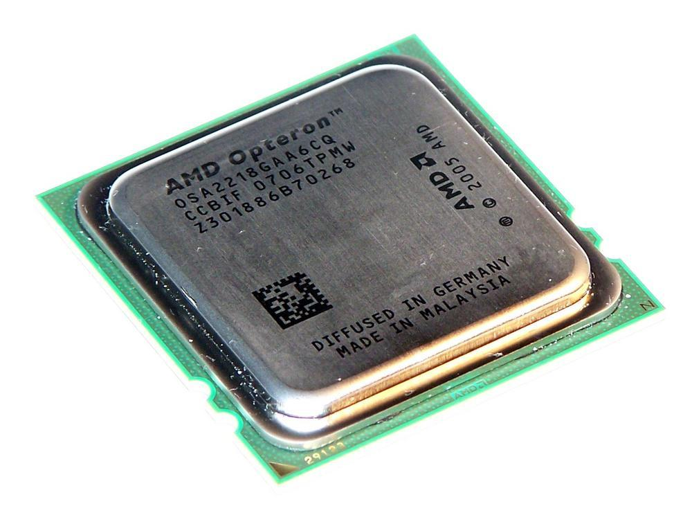 AMD OSA2218GAA6CQ 2.6GHz Opteron 2218 Dual Core Socket F Processor
