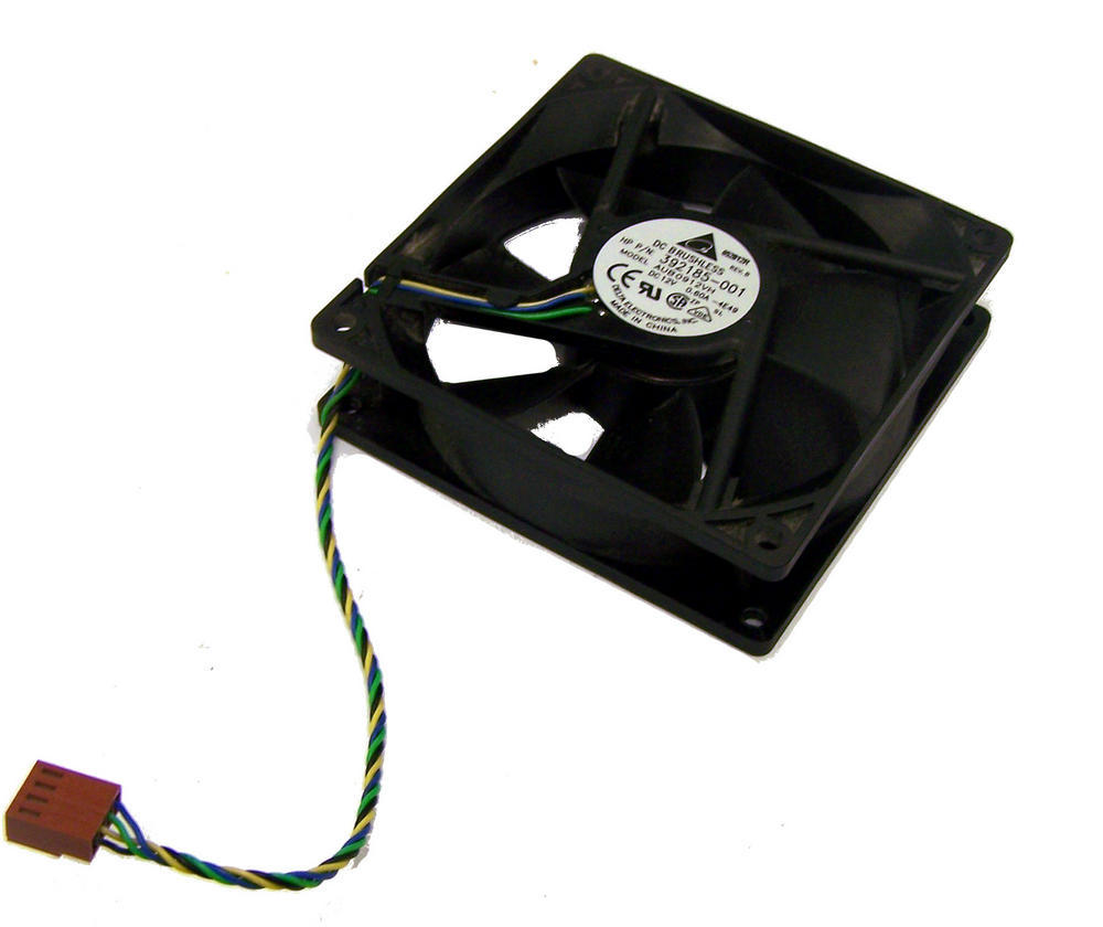 HP 392185-001 dc7600 SFF Small Form Factor Front Fan Assembly | Delta AUB0912VH Thumbnail 1