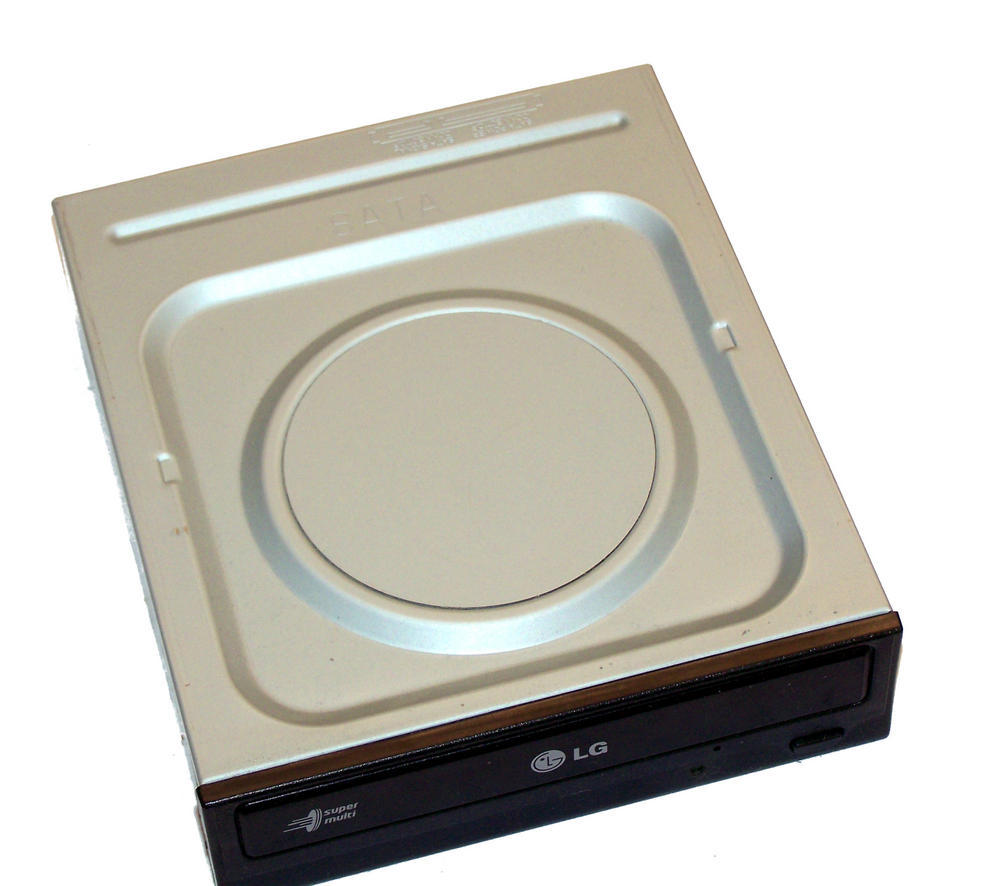HL Data GH22NS50 SATA H/H DVD-RW Recorder | Black Bezel Thumbnail 2