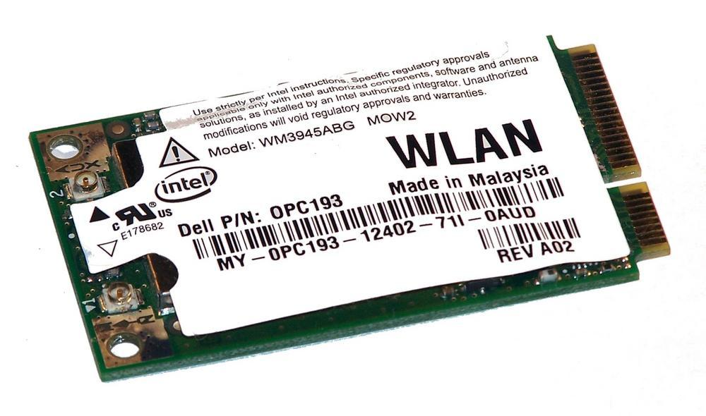 Dell PC193 WLAN Mini PCIexpress Card Intel WM3945ABG WiFi 54Mbps 802.11a/b/g