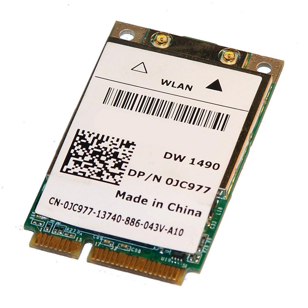Dell JC977 WLAN Mini PCIexpress Card Broadcom DW 1490 WiFi 54Mbps 802.11a/b/g