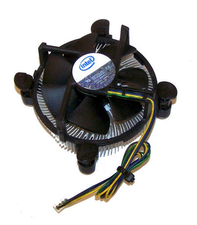 Intel E97375-001 Socket T LGA775 CPU Heatsink and Fan | 4-Pin 12VDC 0.60A Thumbnail 1