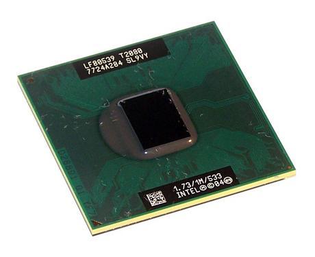 Intel LF80539GE0301M Pentium 2 Core T2080 1.73GHz Socket M Processor SL9VY