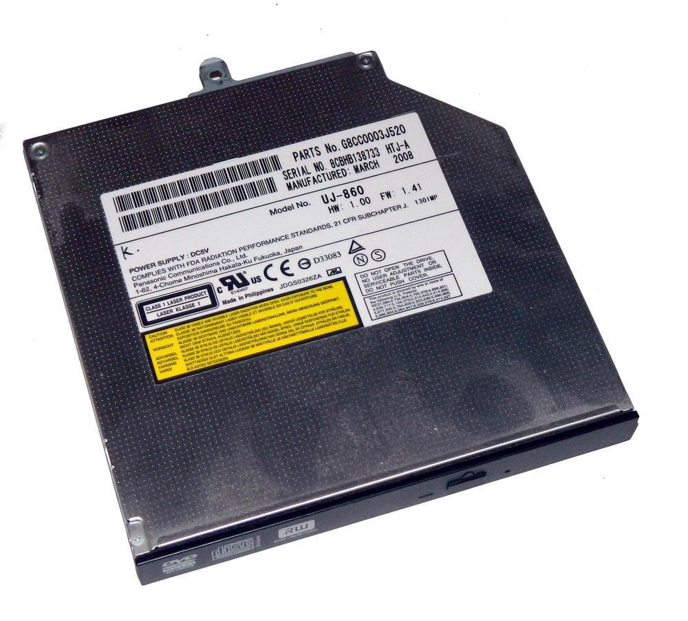 Toshiba G8CC0003J520 Tecra A9 DVD-RW Slimline ATA Drive | UJ-860