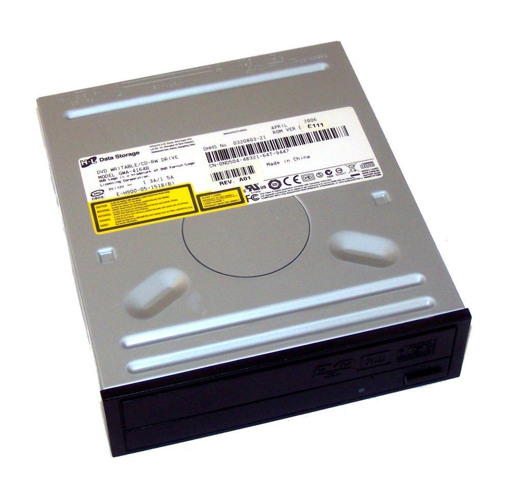 Dell ND504 ATA H/H DVD-RW Drive with Black Bezel | Model GWA-4164B 0ND504