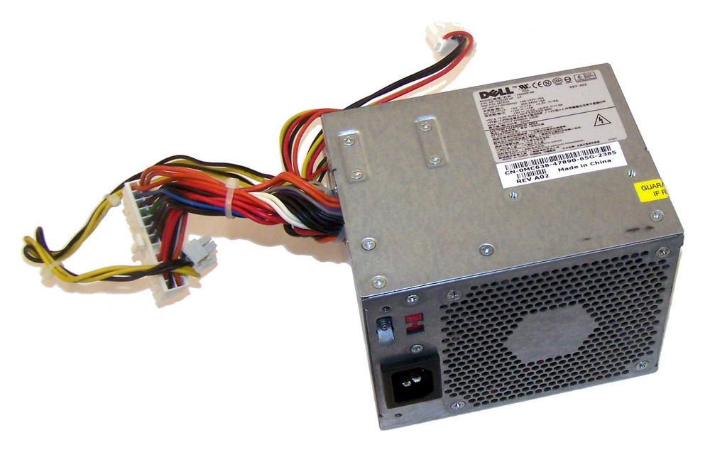 Dell MC638 OptiPlex GX520 model DCNE 220W Power Supply (Small Desktop) | 0MC638 Thumbnail 1