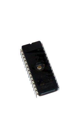 STMicroelectronics M27C512-10F1 512KBit 100nS FDIP28W EPROM IC