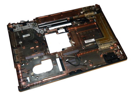 HP 486284-001 Compaq 6530b Lower Chassis Base Plastic | 6070B0256201 Thumbnail 1