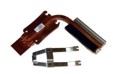 HP 486289-001 Compaq 6530b 6730b CPU Heatsink and Clip | 6043B0044701 Thumbnail 1