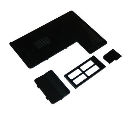 HP 493274-001 Compaq 2230s Chassis Plastics Kit | HDD Wireless Doors, SD and EC Thumbnail 1