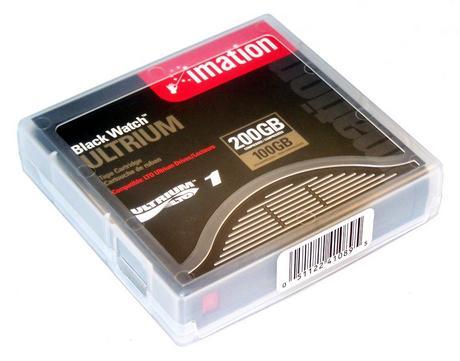 Imation 41089 Black Watch LTO1 100/200GB Tape [New]
