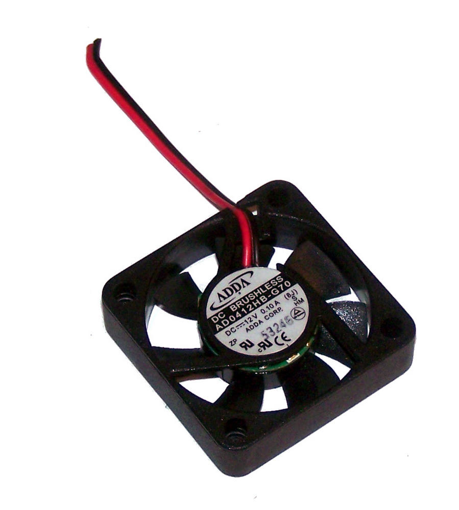 Adda AD0412HB-G70 12VDC 0.10A 40x10mm 2-Wire DC Brushless Fan | 5cm Unterminated