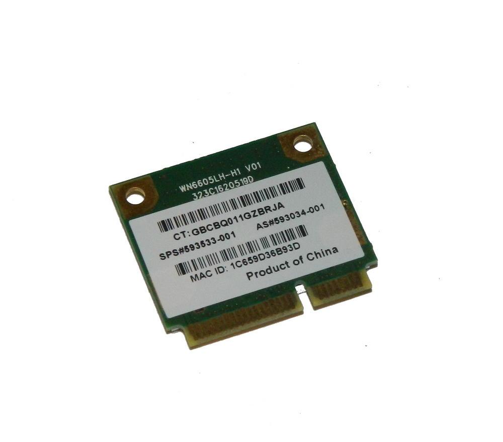 HP 593034-001 WLAN Mini PCIe Card Realtek RTL8191CE 802.11b/g/n | SPS 593533-001