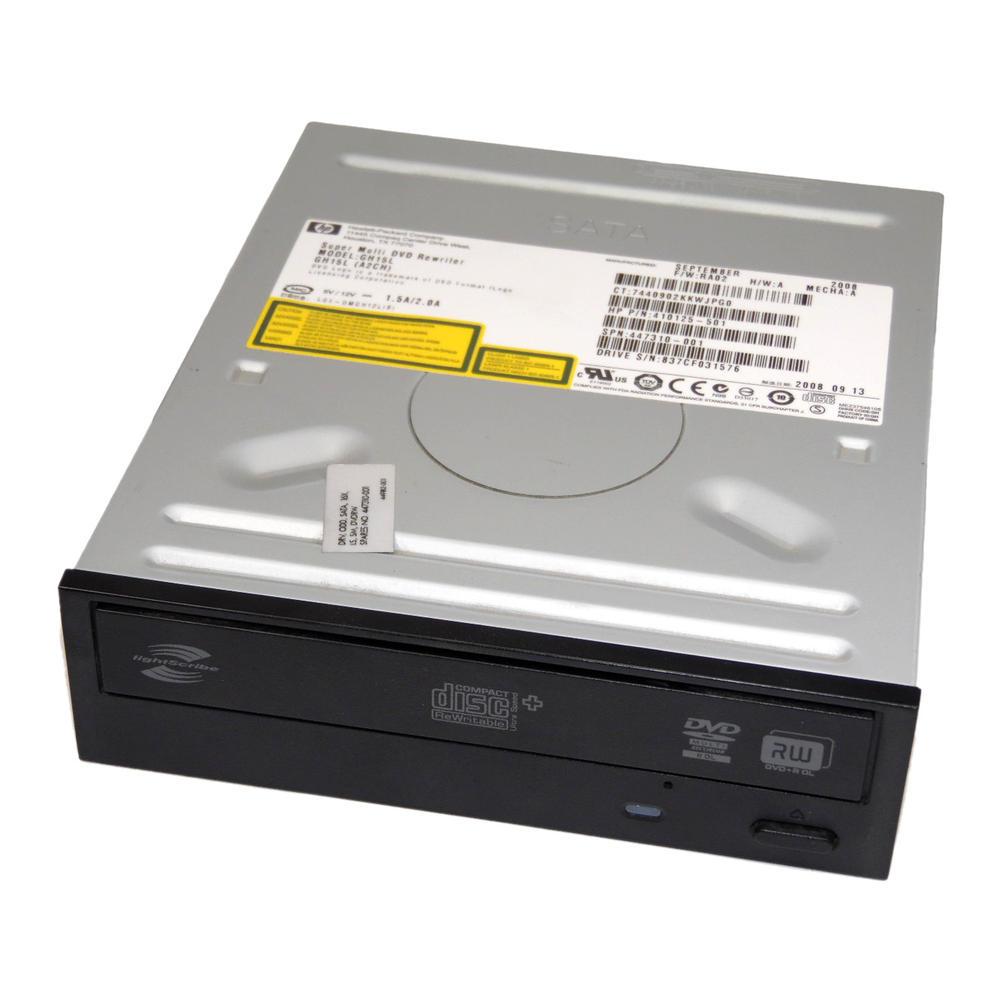 HP 410125-501 447310-001 Black Bezel SATA DVD±RW D/L Lightscribe Drive GH15L