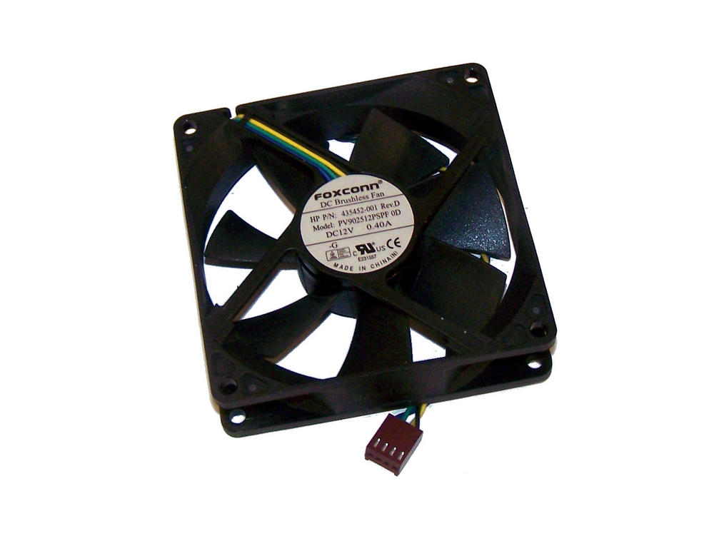 HP 435452-001 dc5800 dc7700 SFF Small Form Factor Fan | Foxconn PV902512PSPF 0D