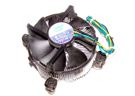 Intel D95263-001 Socket T LGA775 CPU Heatsink and Fan | 4-Pin 12VDC 0.20A