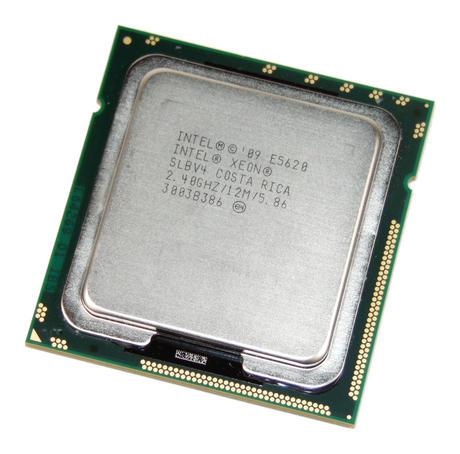 Intel AT80614005073AB Xeon Quad Core E5620 2.4GHz Socket B LGA1366 Processor SLB