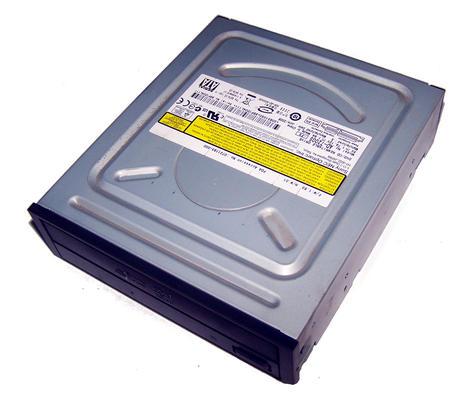 Sony NEC Optiarc AD-7200S-FS SATA H/H DVD-RW DVD Recorder Drive | Black Bezel Thumbnail 1