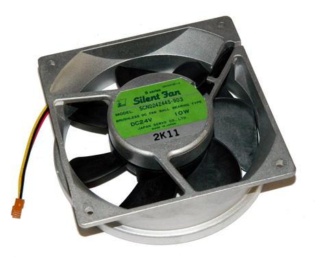 Sony 1-541-901-11 24VDC 10W 120mm x 38mm 3-Wire Fan | Japan Servo SCN024Z44S-903 Thumbnail 2